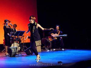 Sara Reig bailando